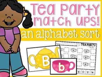 Alphabet Tea Party Match-Ups