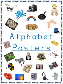 Alphabet Teaching Posters