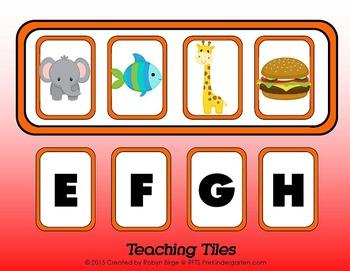 Alphabet Teaching Tiles