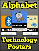 Alphabet Technology Posters