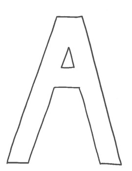 Alphabet Template By Breanna Sherk Teachers Pay Teachers