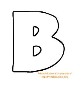 Alphabet Templates/ Cut-Outs