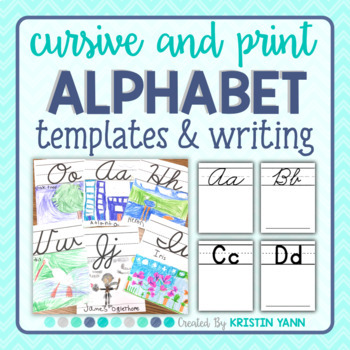 Alphabet Templates and Writing