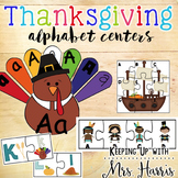 Alphabet Thanksgiving Center Activities