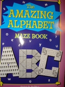 "Alphabet- ""The Amazing Alphabet Maze Book"""