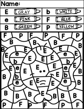 Alphabet Themed Color Codes