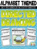 Alphabet Directed Drawing Activity Pack {Zip-A-Dee-Doo-Dah Designs}