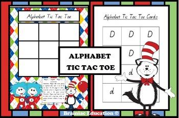 Alphabet Tic Tac Toe