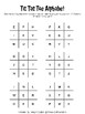 Alphabet Tic-Tac-Toe - lowercase, uppercase, and mixed