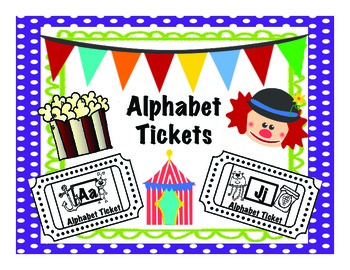 Alphabet Tickets