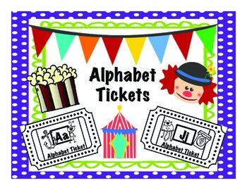Alphabet Tickets