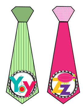 Alphabet Ties From A-Z