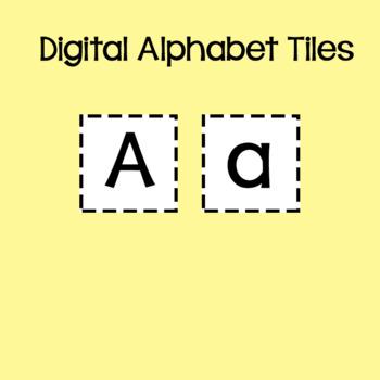 Alphabet Tiles for your Digital Resources