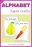 Alphabet Tissue Paper Crafts