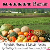 To Market Alphabet Letters, Names & Sounds Interactive Whiteboard