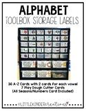 Alphabet Toolbox Storage Labels