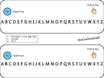 Alphabet Touch Timeline
