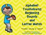 Alphabet Touchdown!! Football Game for Beginning Sounds Pr
