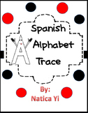 Alphabet Trace ABC Trace in Spanish