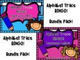 Alphabet Trace BINGO Bundle: Uppercase and Lowercase Letters