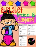 Alphabet Trace & Color