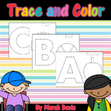 Alphabet Trace & Color - Prewriting Practice