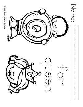 Alphabet Trace & Color Set 1