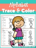 Alphabet Trace & Color Set 2