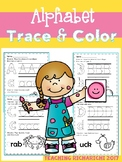 Alphabet Trace and Color Set 3 Coronavirus Packet Distance