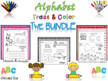 Alphabet Trace&Color-The Bundle