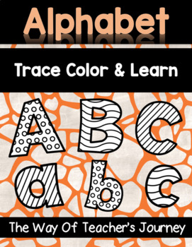 Dollar deal - Back to school Alphabet Trace Color and Learn Bundle