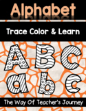 Alphabet Trace Color and Learn Bundle