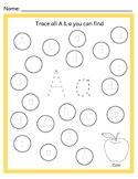 Alphabet Trace & Find
