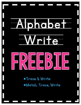*FREEBIE* Alphabet Write