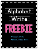 *FREEBIE* Alphabet Write