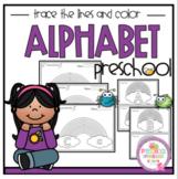 """Alphabet Trace and Color """"No Prep"""""""