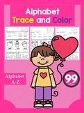Alphabet Trace and Color Part 3