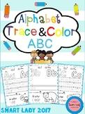 Alphabet Trace and Color (Set 2)