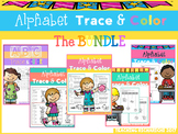 Alphabet Trace and Color The BUNDLE Coronavirus Packet Distance Learning