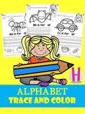 Alphabet Trace and Color set 1