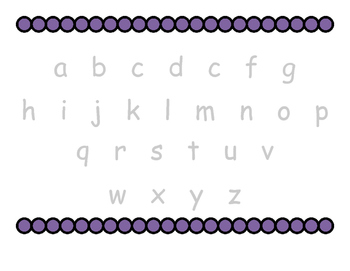 Alphabet Trace and Fill-in-the-Blank
