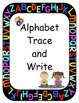 Alphabet Trace and Write