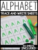 Alphabet Trace and Write Sheets | FREE DOWNLOAD |