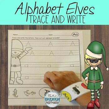 Alphabet Trace and Write (with Bracelets)