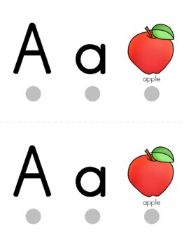 Alphabet Traceable Mats