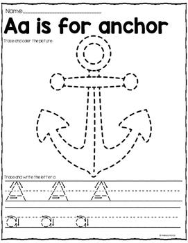 Alphabet Tracing and Handwriting