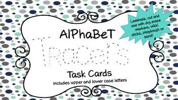 Alphabet Tracers Task Cards