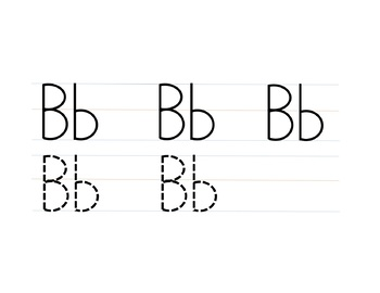 Alphabet Tracing (.ppt and pdf)