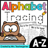 Alphabet Tracing Distance Learning