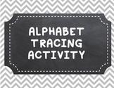 Alphabet Tracing Activity